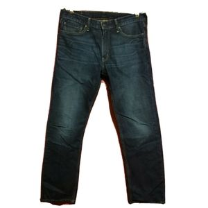Levi's denim jeans 504 34x32 straight leg blue